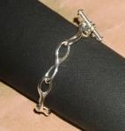 sterling silver link bracelet 06 marshall hansen design c