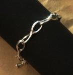 sterling silver link bracelet 07 marshall hansen design c