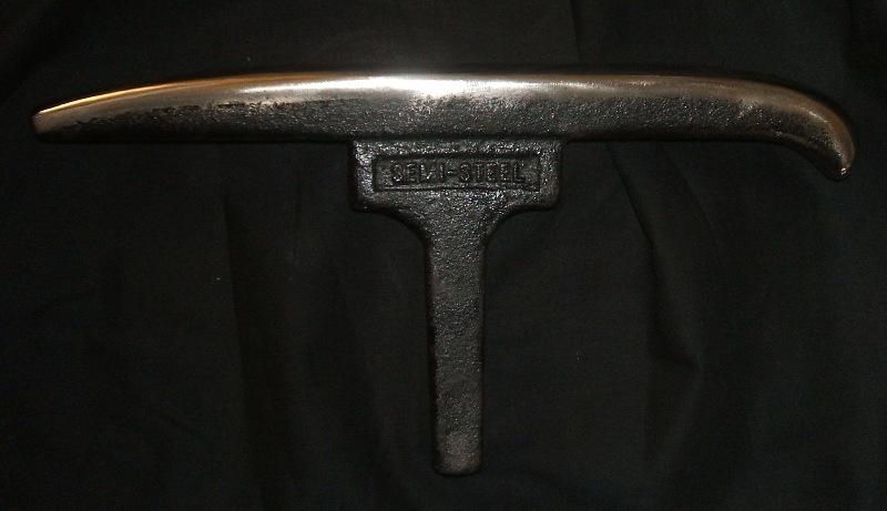 Dixon Grobet stake #9 silversmith metalsmith raising forming side