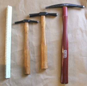 Dixon 1,2,8 Embossing hammers a