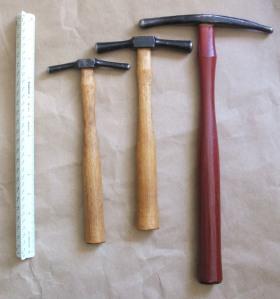 Dixon 1,2,8 Embossing hammers b