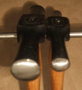 Dixon #2,1 Embossing Hammer face 1